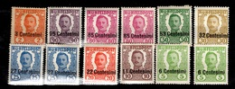 Autriche-Hongrie Occupation En Italie Douze Timbres Neufs *. B/TB. A Saisir! - 1850-1918 Empire