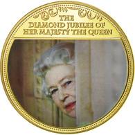 United Kingdom , Médaille, Diamond Jubilee Of Her Majesty The Queen, Elizabeth - United Kingdom