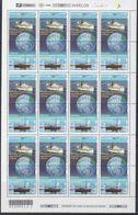 Brazil 2000 Antarctica 2v Se-tenant Sheetlet  (unfolded) ** Mnh (F6934) - Postzegels