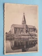 Instituut H. Hart Van Maria, Machelen A/d Leie ( Wandeling Langs Kerk & Leie ) Anno 1956 ( Zie Foto Voor Details ) !! - Zulte