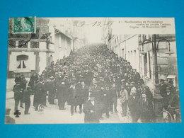 16 ) Cognac - N° 4 - Manifestation Contre Les Projets COCHERY 10 Novembre 1909 : EDIT C.C.C.C - Cognac