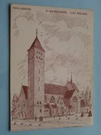 St. JAN BOSCOKERK ( Arch. A. Bressers ) Steentje Voor De Nieuwe Kerk - Anno 19?? ( Zie Foto Voor Details ) !! - Sint-Niklaas