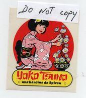 Yoko Tsuno - Une Héroine De Spirou - Autocollant - Adesivi