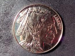 COPIE 50 Dollars Or Bison USA      ///COPIE PAS EN OR //// - Etats-Unis
