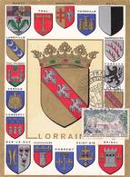 Carte-Maximum FRANCE N° Yvert 1483 (LORRAINE) Obl Sp Ill Epinal (Ed Louis Gd Ft) - 1960-69