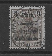 Sello De Marienwerder Nº Michel 24 (o). - Bezetting 1914-18