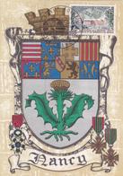 Carte-Maximum FRANCE N° Yvert 1483 (LORRAINE) Obl Sp Ill Foire De Nancy (Ed BD 1325 H) RR - 1960-69
