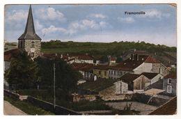 Nr. 6588,  Feldpost,  Fremonville - Guerre 1914-18