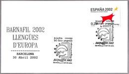 LENGUAS DE EUROPA - EUROPEAN LANGUAGES. Barcelona 2002 - Idioma