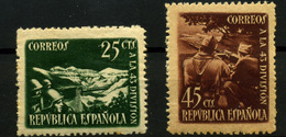 2237- España Nº 787/8 - 1931-50 Unused Stamps