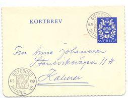 Kortbrev - Briefkaart - Stempel Cachet Göteborg 1961 - Suède