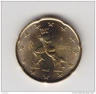 @Y@  Italie    20   Cent    2002      UNC    (IT3) - Italien