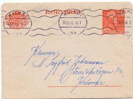 Kortbrev - Briefkaart - Stempel Cachet Malmö  1948 - Suède