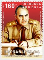 ARMENIA 2017 Soviet Marshal Sergey Aganov - Armenia