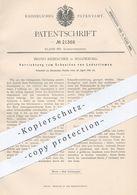 Original Patent - Bruno Rebeschke , Magdeburg 1882 , Schneiden Von Lederriemen | Leder , Schneidzeug , Gerber , Gerberei - Historical Documents