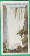 Chromo John Player & Sons, Player's Cigarettes - Wonders Of The World - Victoria Falls, Zambezi, Africa N°22 - Player's