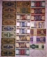 Lot De 24 Billets Du Brésil Banco Central Do BRASIL - Brésil