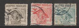 Nederlan 1929 NVPH Nr. LP 6-8     Used - Airmail