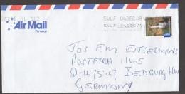 International Post Jim Jim Falls $2.05  On Letter To Germany - 2010-... Elizabeth II