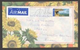 International Popst  Gariwerd - Grampions $1.65 On 2002 Letter To France - 2010-... Elizabeth II