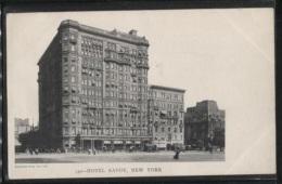CPA - NEW YORK - HOTEL SAVOY - Edition Blanchard Press - Cafés, Hôtels & Restaurants