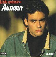 ** ANTHONY DELON ** Face A - Quelle Revienne // B - Quelle Revienne (Instrumental) ** 1987 ** - Disco, Pop