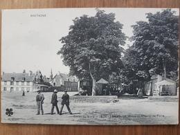 Lamballe.place Du Champ De Foire.fête Foraine.édition MTIL 1826.RARE - Lamballe