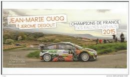 Jean Marie CUOQ / Jérome DEGOUT - Champions De France Rallye Asphalte 2015 - Rally Racing