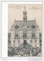 91 CORBEIL INAUGURATION DU NOUVEL HOTEL DE VILLE CPA BON ETAT - Corbeil Essonnes