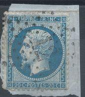 Lot N°41577  N°22, Oblit étoile Chiffrée 12 De PARIS (Bt Beaumarchais) - 1862 Napoleon III