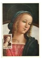 GF Carte Maximum 063, Art Italie 1955, La Vergine Perugino - Art