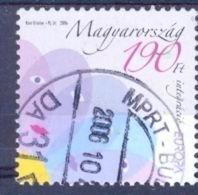 U 2006-5100 EUROPA CEPT, HUNGARY, 1 X 1v, Used - 2006