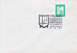 175 AÑOS LA CIUDAD FUNDADA POR ARTIGAS.-URUGUAY-TBE-BLEUP - Uruguay