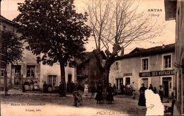 CPA - ISERE - Artas - Place Du Commerce - Hôtel Des Voyageurs - Autres Communes