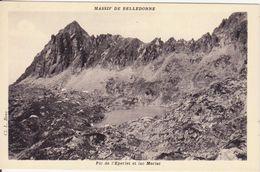 CPA -  Massif De BELLEDONNE - Pic De L'éperlet Et Lac Merlat - France