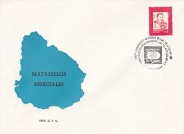 56 CONGRESO MUNDIAL F.I.P. EXPO MUNDIAL DE FILATELIA. HAFNIA 87.-URUGUAY-TBE-BLEUP - Uruguay