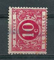 TX 13A Gestempeld Met Opdruk/surcharge WESPELAER - Cote 20,00 + COBA 8 Euro - Briefmarken