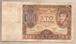 Polonia - Banconota Circolata Da 100 Zloty P-74a - 1932 - Polonia