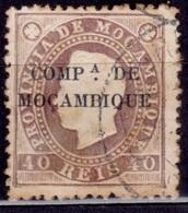 Mozambique, 1892, Company, 40r, Sc#5, Used - Mozambique