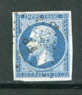 Y&T N°14B Ambulant F P - 1853-1860 Napoleone III
