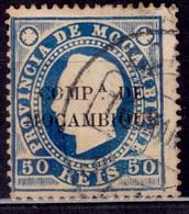 Mozambique, 1892, Company, 50r, Sc#6, Used - Mozambique