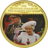 United Kingdom , Médaille, Diamond Jubilee Of Her Majesty The Queen, Elizabeth - Royaume-Uni