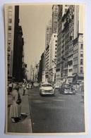 NEW YORK - Street Scene - Cars - 50ies - Artistic RPPC USA03/02 - Other