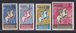 HAITI SERVICE N°    6 à 9 ** MLNH Neufs Sans Charnière, TB (D5650) Statue De J.J.Dessalines - Haïti