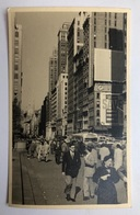 NEW YORK - Street Scene - 50ies - Artistic RPPC USA/03 - Other