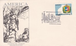 FDC-AMERICA, DEPARTAMENTO DE SORIANO.-URUGUAY-TBE-BLEUP - Uruguay