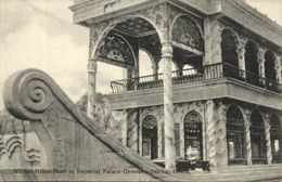 China, PEKING PEIPING, Imperial Palace, Marble House Boat (1910s) Burr Postcard - China