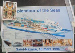 Ek9.g Paquebot SPLENDOUR Of The SEAS Chantiers De L'Atlantique St Nazaire RCCL Royal Caribbean Cruises - Technics & Instruments