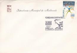 FDC-V CONGRESO MUNDIAL DE DEPORTES PARA TODOS. INTENDENCIA MUNICIPAL DE MALDONADO.-URUGUAY-TBE-BLEPU - Uruguay
