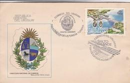 FDC-SALTO GRANDE, INAGURACION DE LA PRIMERA TURBINA.-URUGUAY-TBE-BLEUP - Uruguay